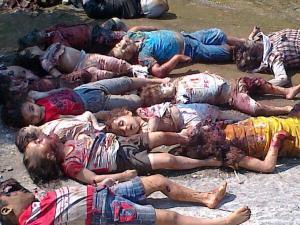 murdered Syrian Children