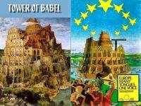 Turnul Babel si Clădirea Parlamentului European / Babilon si UE