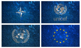 flags-unicef-nato-united-nation-euro-wall-texture-43613534