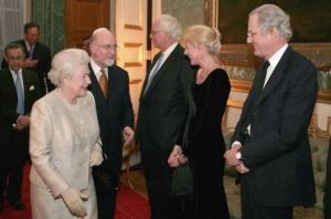 Queen Elizabeth II At Jewish Community Reception