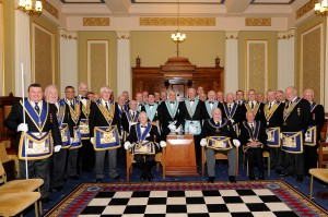 Ted Hold Fifty years in Freemasonry