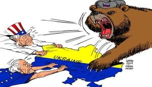 In cartoon: Ukraine in crisis