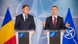 President of Romania visits NATO