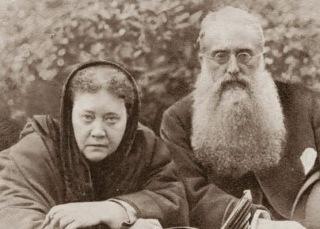 Fondatorii Teosofiei, Helena Petrovna Blavatsky (1831-1891), Henry Steel Olcott (1832-1907)