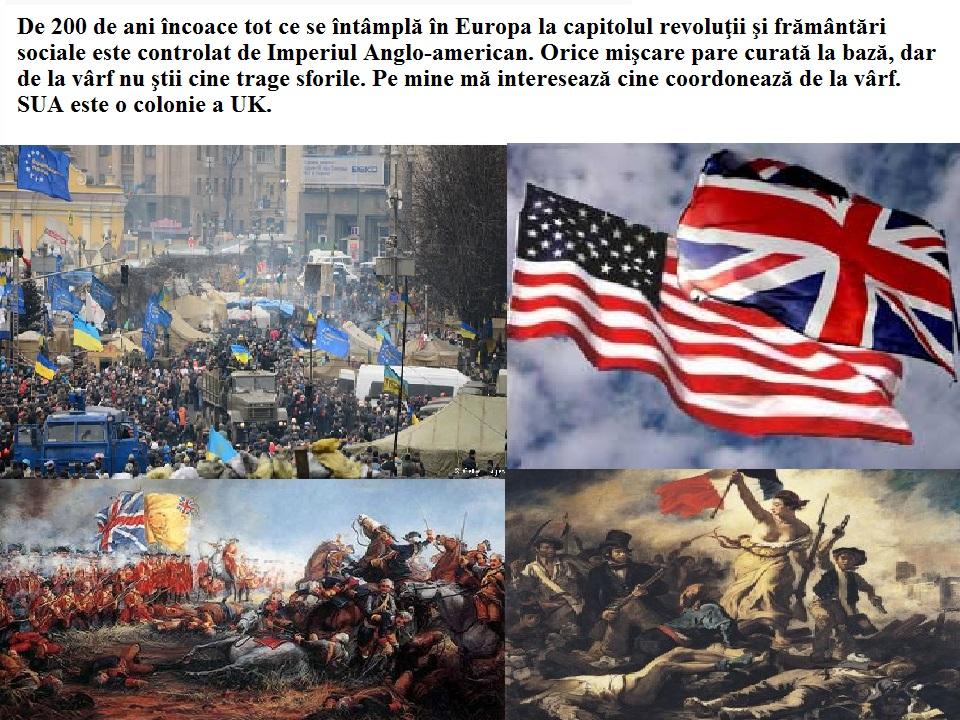 Imperiul anglo-american, pe care îl socotesc noul Babilon joacă un rol foarte periculos în istorie în momentul de faţă 1