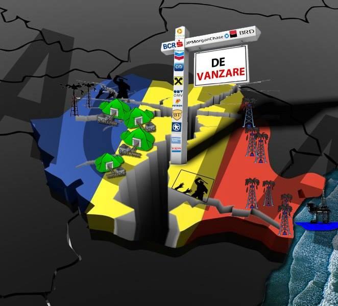 Vânzarea şi distrugerea României prin legislaţie